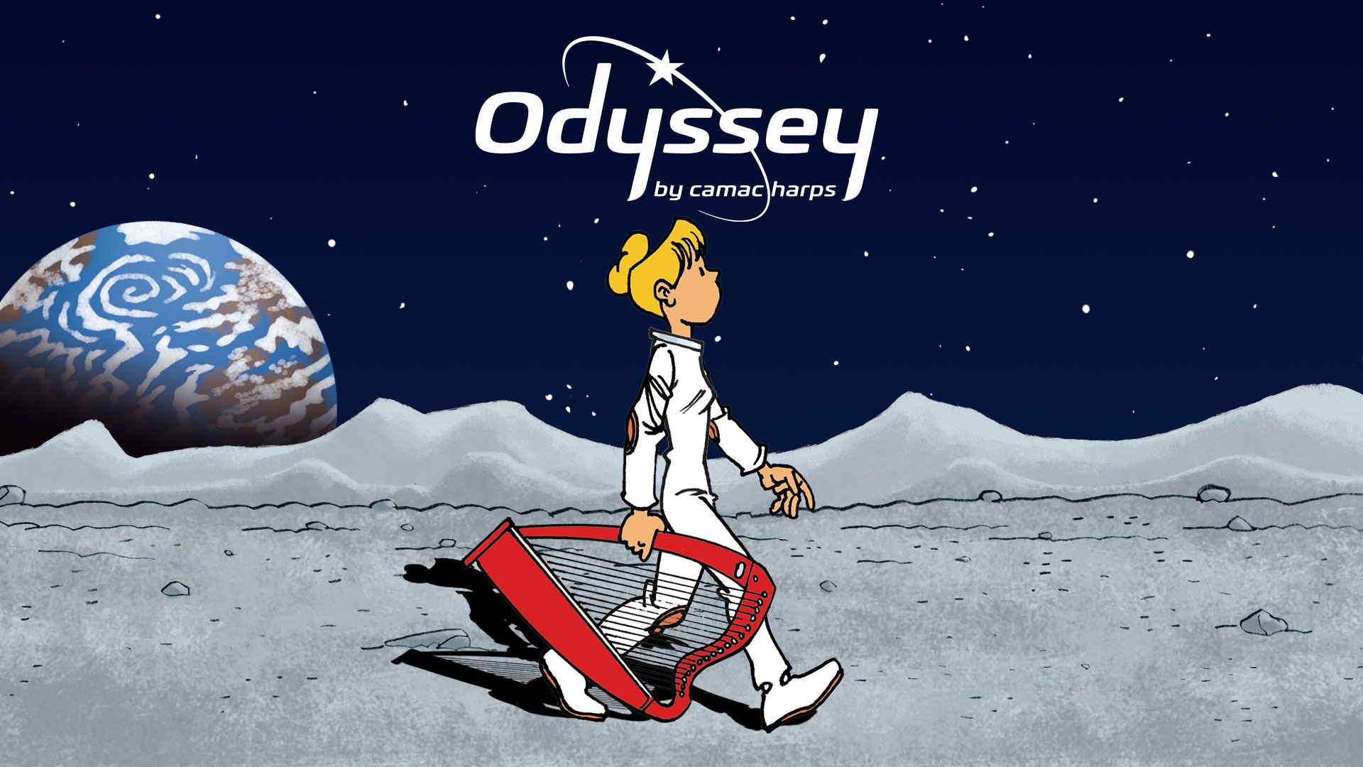 Watch the Odyssey harp film!