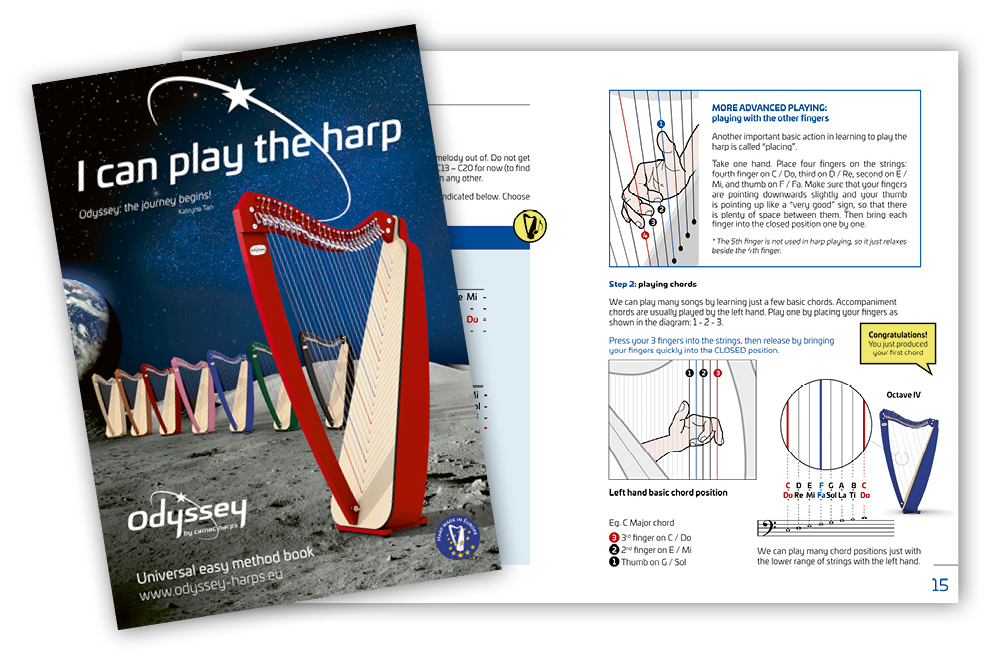 I can play the harp...by Katryna Tan