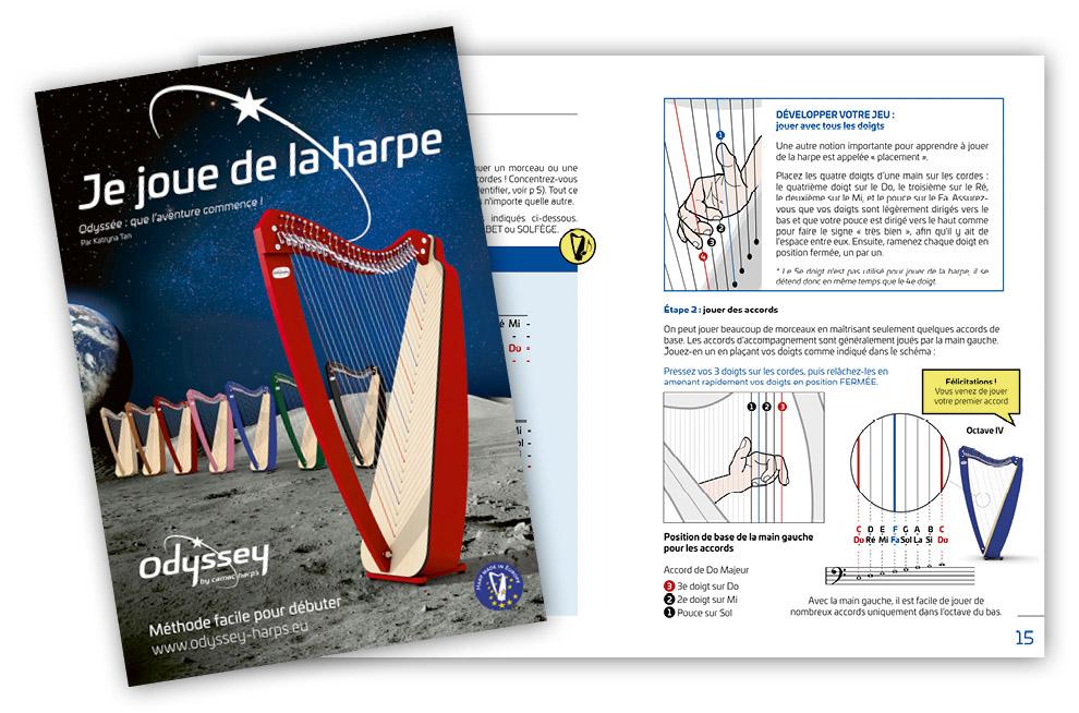 Je joue de la harpe...par Katryna Tan